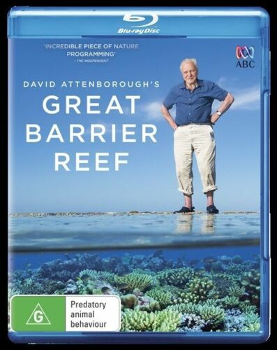 1 of 1 - David Attenborough - Great Barrier Reef : NEW Blu-Ray