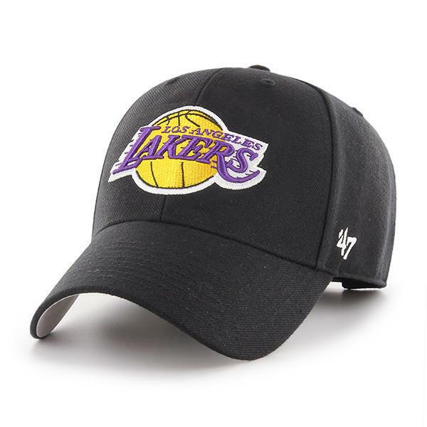 quite nice size 7 best price Los Angeles Lakers '47 BRAND Black Adjustable MVP Hat - Limited 50 ...