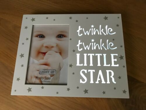 Light Up Photo Frame Twinkle Twinkle Little Star