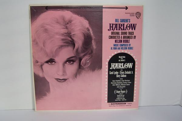 Al Ham, Nelson Riddle - Harlow Original Soundtrack Viny