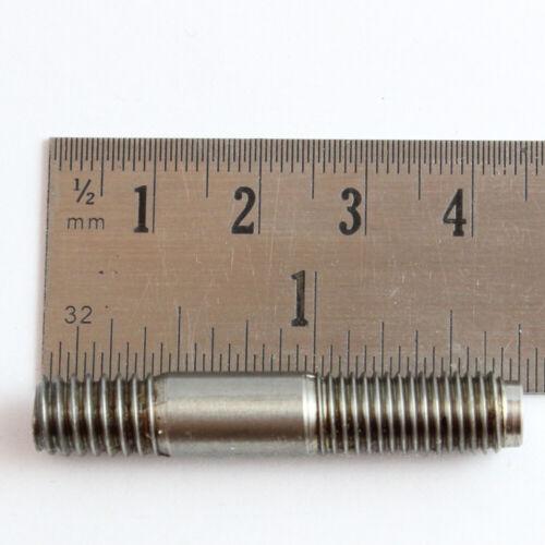 """Léger Titane 5//16/"""" UNC pour UNF 45 mm Long Stud corrosion Proof solide"""