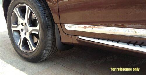MUD FLAPS SPLASH guardias coche Fender Guardabarros Para Mercedes Clase E AMG línea 17-18