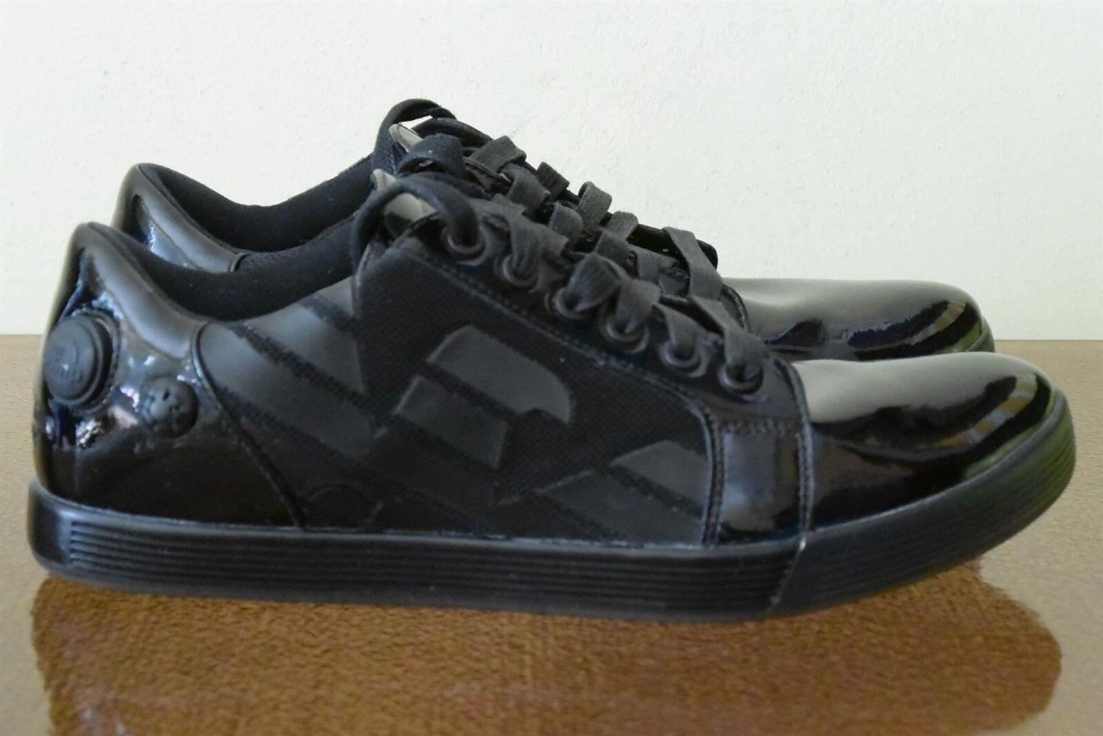Reebok x Emporio Armani The Pump Vintage Black Sneakers Limited Sz 8.5