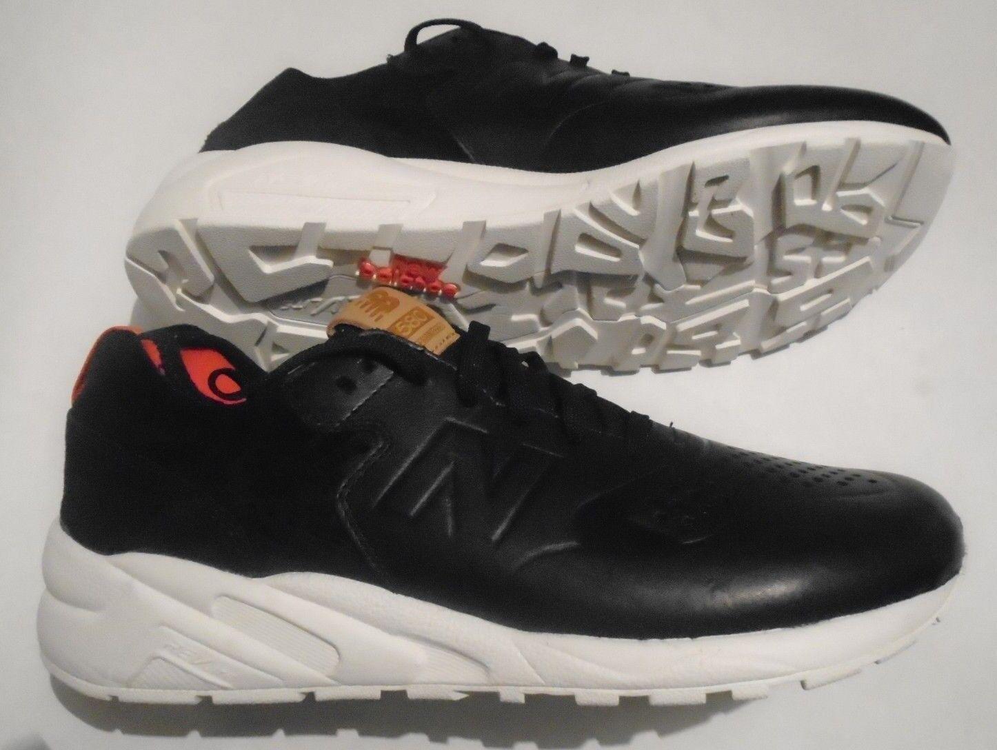 Nuevo NB New 580 Deconstructed Para Hombres 10 Balance Zapatos Negro Rojo Crema MRT580DK