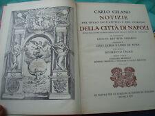 CELANO-CHIARINI-NOTIZIE DELLA CITTA' DI NAPOLI IN DIECI GIORNATE-7 VOLUMI-1974