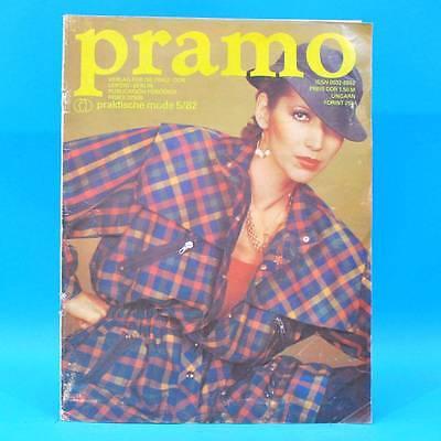 Pramo 5/1982 Praktische Mode Schnittmuster N Sommerparkas Spielkittel Sommermode Reich Und PräChtig