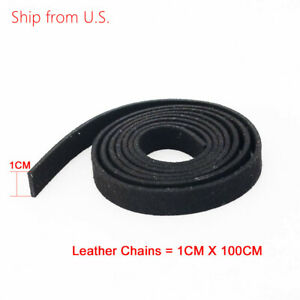 Black Suede Korean Velvet Leather Cord