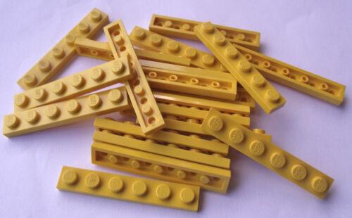 LEGO 1x6 plates packs of 20 part 3666 Choose your colour.