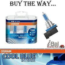 OSRAM LAMPADINE 64212CBIDUO H8 12V 35W A. PGJ19-2 COOL BLUE INTENSE COPPIA
