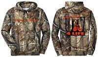 Realtree Camo Camouflage Hoodie Sweat Shirt Utv 4 Life Blaze Orange Just Ride