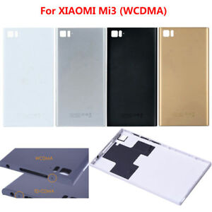 Back Door Battery Housing Cover With Sim Card Tray For Xiaomi 3 MI3 ... 2c51ab4747