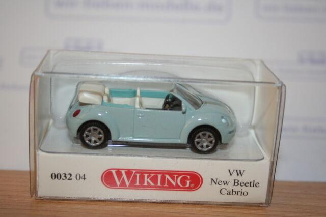 Wiking 003204, VW New Beetle Cabrio, mint, neu, OVP