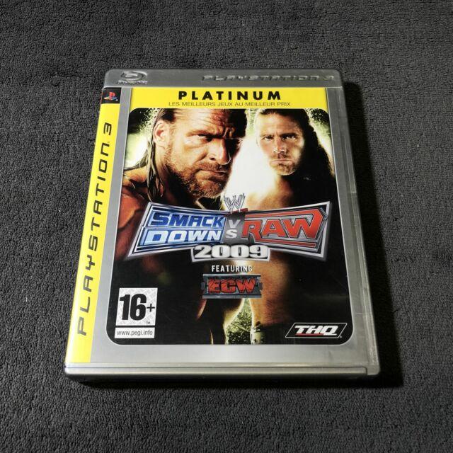 PS3 Smack Down VS Raw 2009 FRA CD état neuf  #2