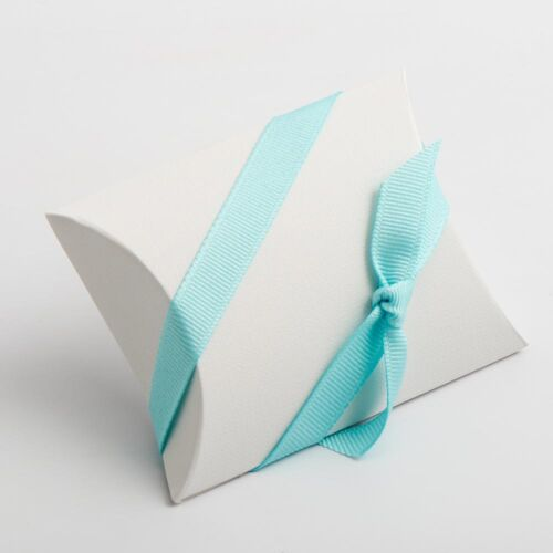 Luxury À faire soi-même Mariage Fête Faveur Cadeau Sucré Boîtes-Lino Bianco en lin blanc Gamme