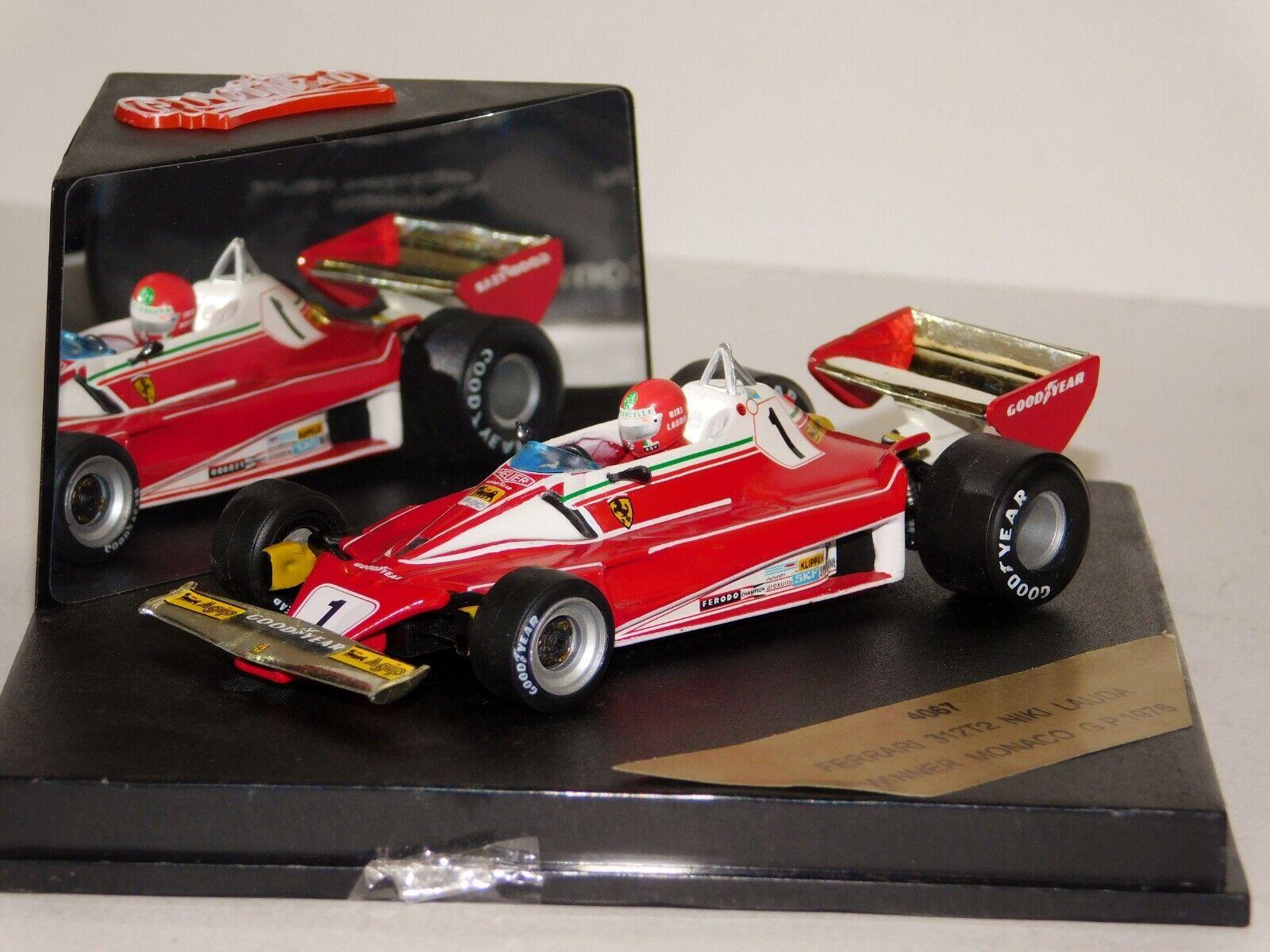 Ferrari 312 T2  1 N. Lauda ganador Gran Premio de Mónaco 1976 Quartzo 4067 1 43