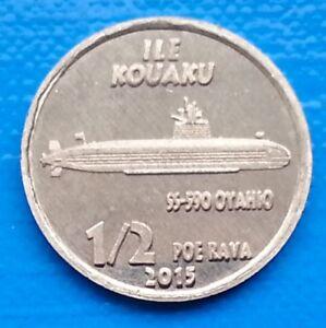 FRENCH PACIFIC unusual Alu Ø20mm MANUHANGI ½ Poe Rava 2015 Plane Vought V173