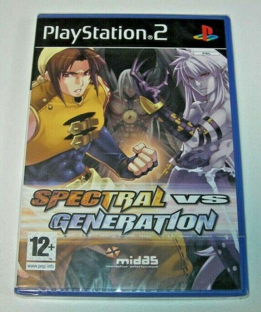 Spectral vs Generation PS2 (PAL España precintado)