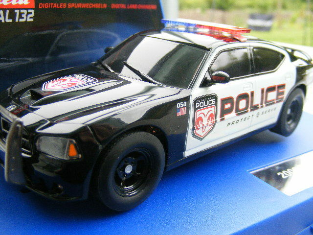 Carrera Digital 132 30441 Dodge Charger Police 2006 Flashing Light New Rare