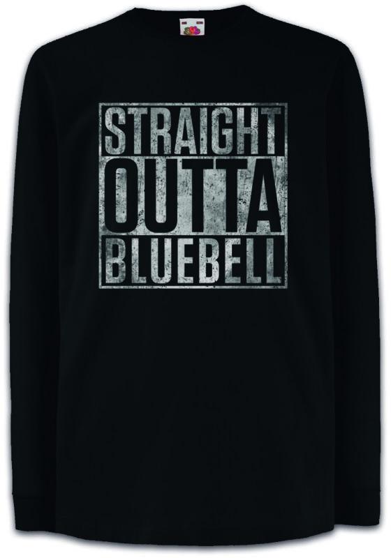 Straight Outta Bluebell Kids Long Sleeve T-shirt Fun Hart Heart Of Zoe Dixie