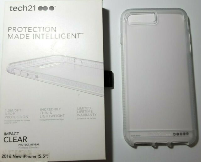 best website 283fb 685c7 tech21 Impact Clear Case for iPhone 7 Plus -