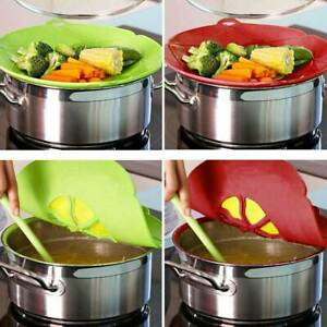 Anti-Overflow-Silicone-Boil-Pot-Lid-Spill-Stopper-Pan-Cover-Cooking-Kitchen-Tool