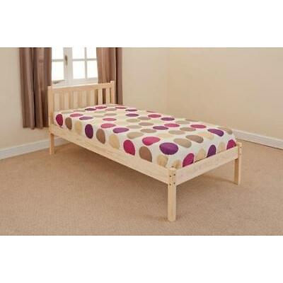 Single Double Pine or White Bed (Mattress Option) FREE UK DELIVERY *Scandinavia*