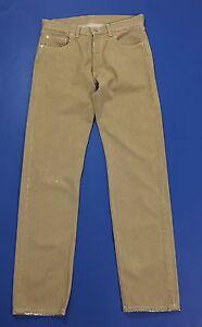 Levis-517-W34-L34-tg-48-jeans-boyfriend-beige-usato-gamba-dritta-levi-039-s-T1784