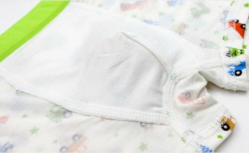 Kids Boys Girls Underwear Breathable Cartoon Car Printing Boxer Brief Pantie Set