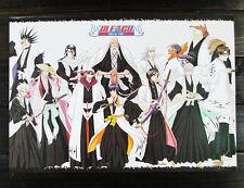 8pcs/set 42x29cm anime Bleach Kurosaki Ichigo/Rukia/Kisuke/Byakuya paper posters
