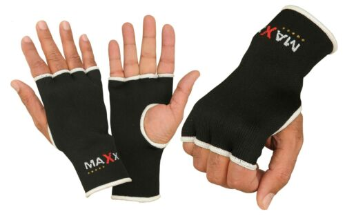 Maxx Wrist Gloves Boxing Hand Wraps Carbon Fibre Fist Hand Inner Gloves Bandages