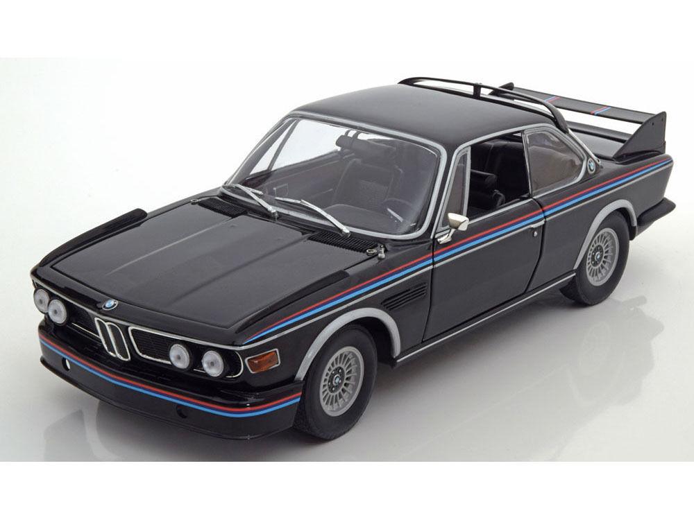 MINICHAMPS 1973 BMW 3.0 CSL E9 Coupé Noir 1 18New - Super Sharp looking voiture