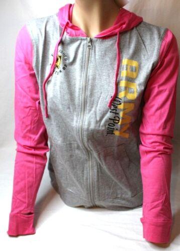 West Point ARMY WOMEN/'S color block Full Zip Léger Sweat Neuf avec étiquettes