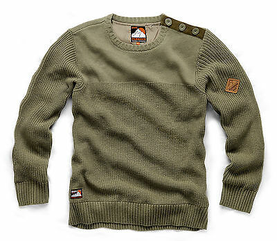 SCRUFFS CREW NECK KNIT WORK JUMPER M-XXL BREATHABLE WIND RESISTANT FULLY LINED
