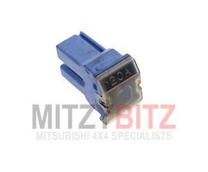 MU840014-Blu-20-Amp-PUSH-IN-Fusibile-per-MITSUBISHI-Pajero-Shogun-MK2-1990-2000