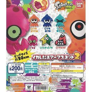 SPLATOON-Air-Mascot-6-Splatoon-Mascots-to-inflate-Complete-SET-NEW