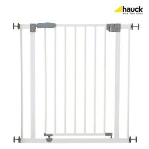 Hauck cancelletto sicurezza bimbo metallo bianco 75 81cm for Prolunga cancelletto hauck
