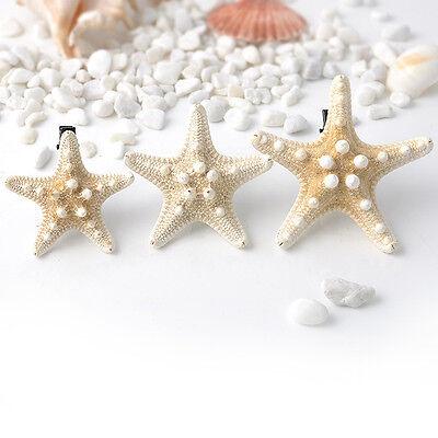 1x Womens Girls Sweet Nice Starfish Beach Sea Star Hairpin Hair Clip Xmas Gift