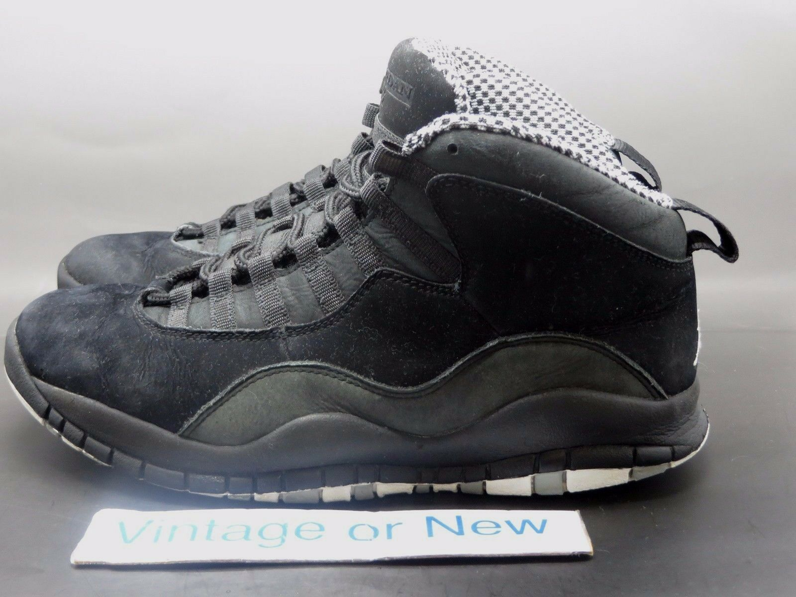 on sale 9b4c5 78531 ... Air Jordan X 10 Stealth Retro 2012 2012 2012 sz 8 e0dd48 ...