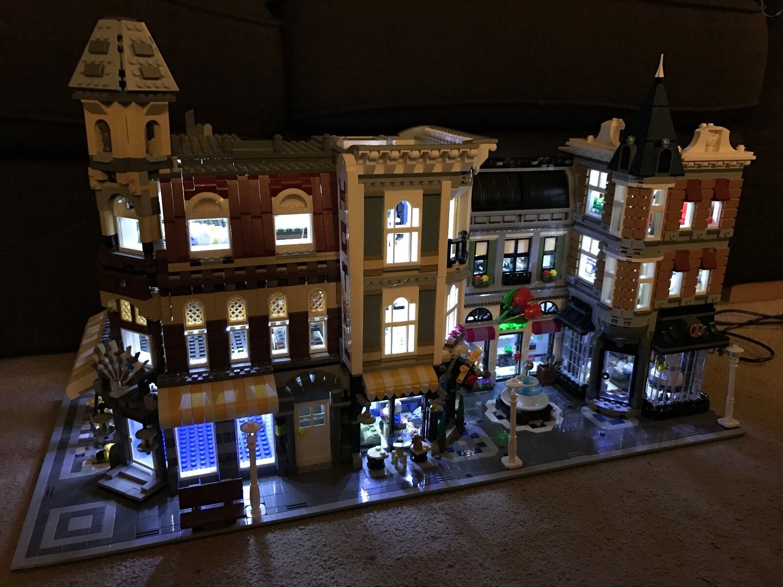 LEGO CREATOR EXPERT MODULARE Triple-Illuminazione LED Luce Kit (USB-powered, Set di 3x)