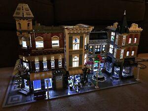 Lego creator expert modular triple lighting led light kit usb
