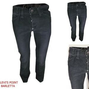 g-star-raw-pantalone-uomo-W30-W31-in-velluto-a-coste-strette-jeans-reese-nero