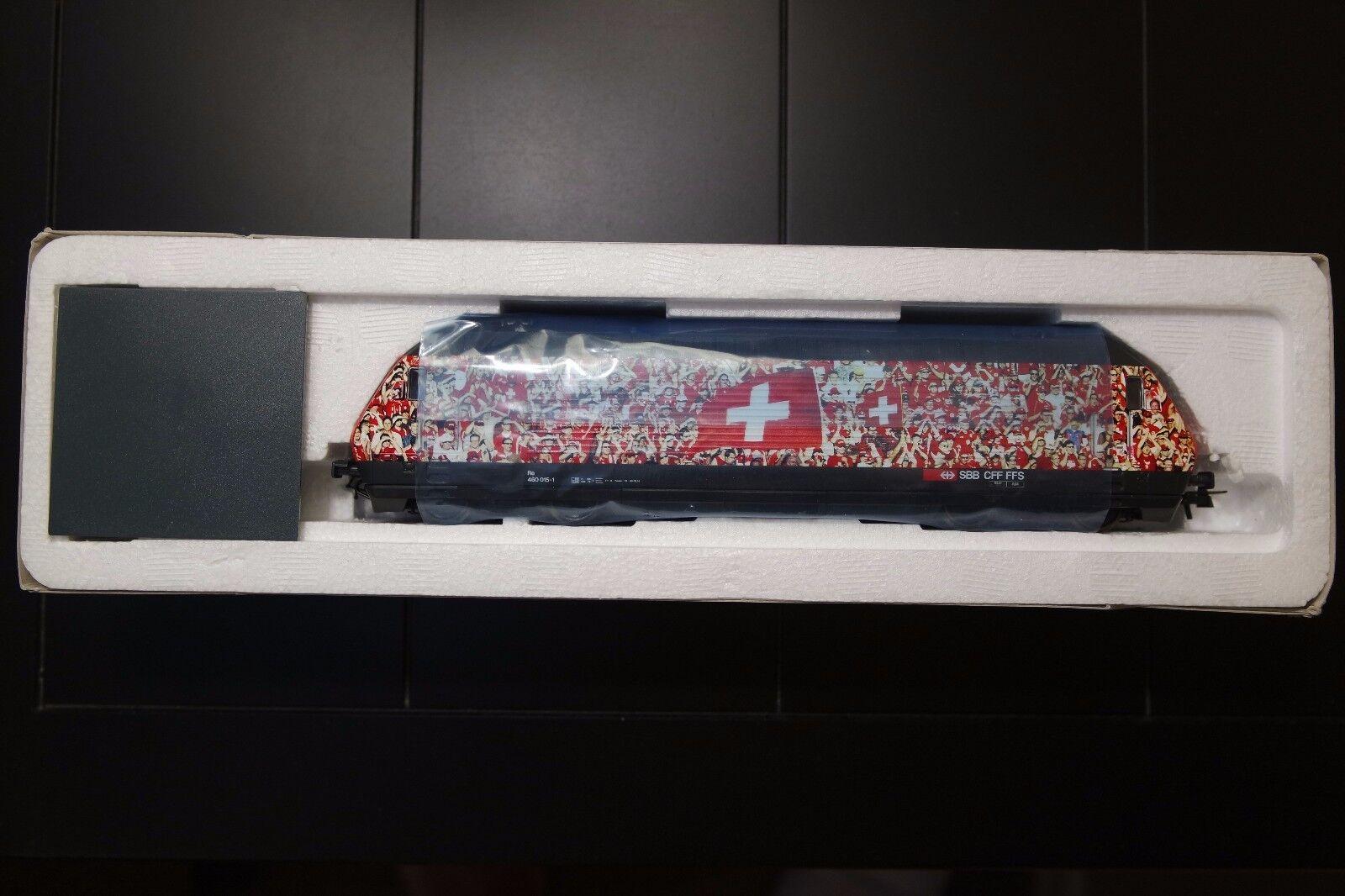Roco HO Swiss SSB 62398 equipo de fútbol suizo Re 460 015-1