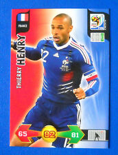 CARD ADRENALYN WORLD CUP SOUTH AFRICA 2010 - HENRY - FRANCE