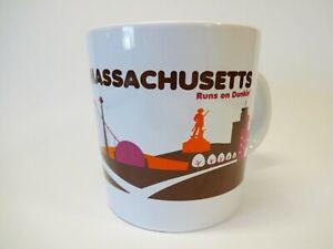Unused Dunkin Donuts Massachusetts 14 oz. Ceramic Coffee Mug 2013