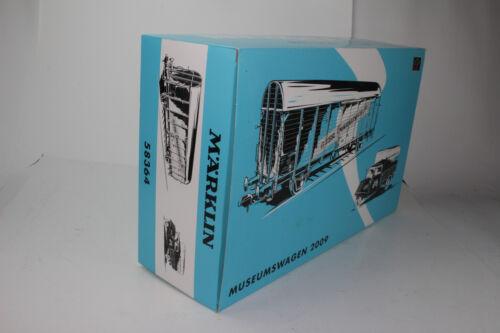 MARKLIN TRAINS #1 GAUGE #58364 MUSEUMSWAGEN 2009 BOXCAR /& TRUCK NEW IN BOX