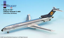 InFlight200 Lufthansa Airlines Polished D-ABCI Boeing 727-100 1:200 Scale D-ABCI