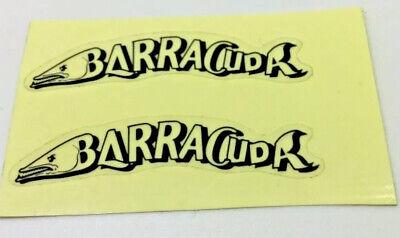 BARRACUDA ATB MOUNTAIN BIKE FRAME STICKER ORIGINAL FACTORY STICKER SOLD SINGLY
