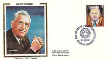 Canada FDC Sc # 899 Aaron Mosher with Colorano cachet- WW 7337