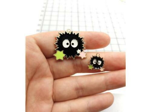 lot cartoon Charm Necklace Bracelet Earrings Pendants Key DIY