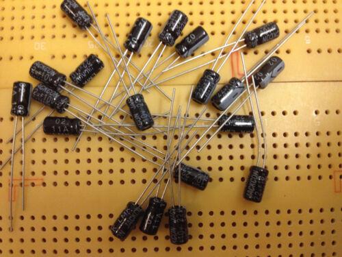 10V 22uF 33uF 47uF 82uF 100uF 150uF 220uF 330uF 470u Aluminium Capacitors Radial